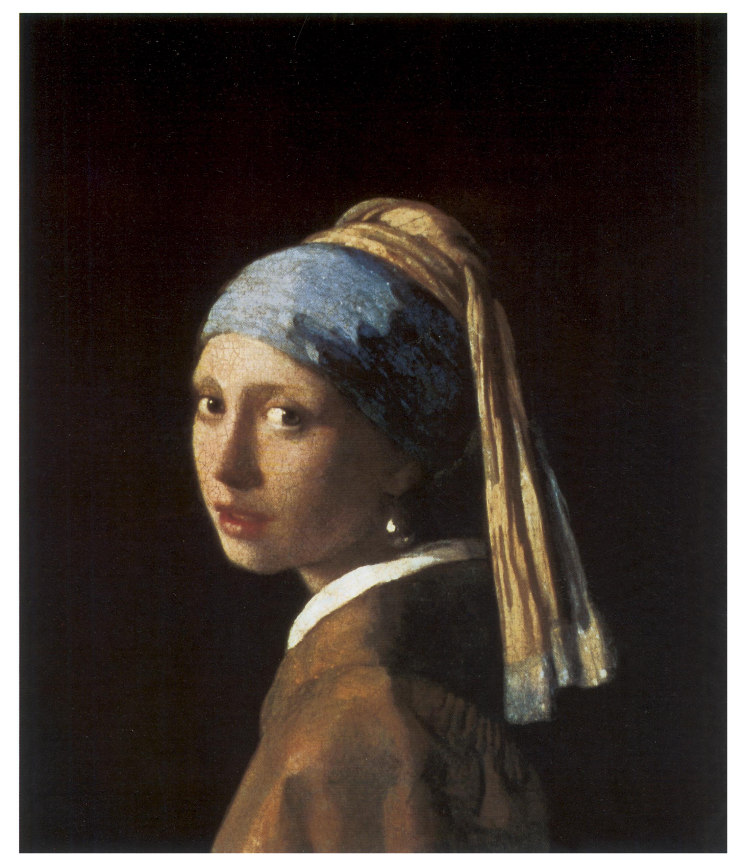 Jan Vermeer, Girl With A Pearl Earring, 166566