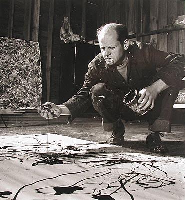 Jackson Pollock Lucifer
